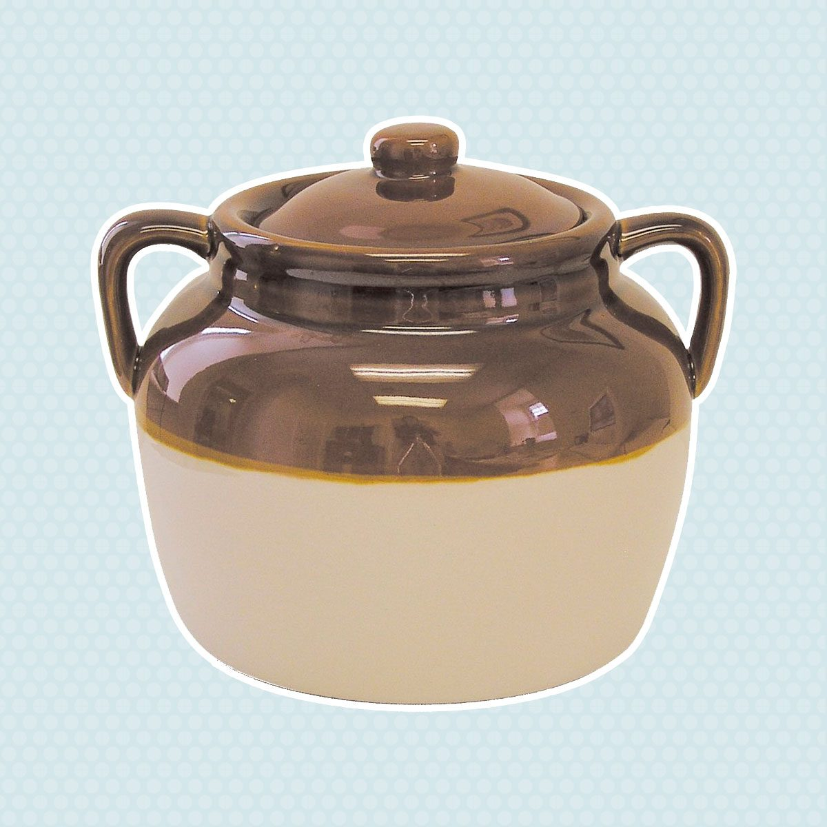 Ceramic bean pot