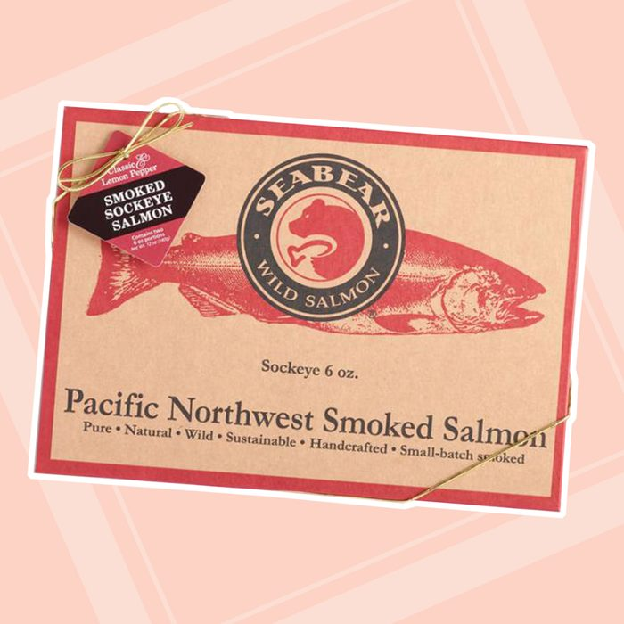 Classic And Lemon Pepper Smoked Sockeye Salmon 2 Pack