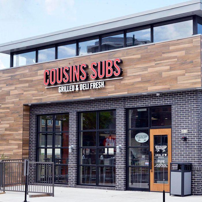 Cousins Subs shop exterior