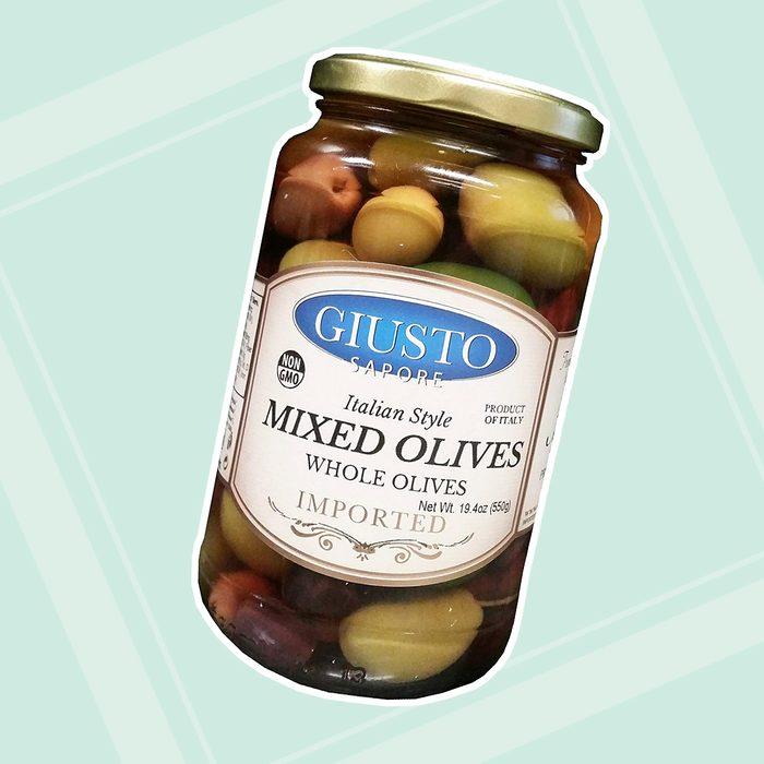 Giusto Sapore Italian Style Mixed Whole Olives