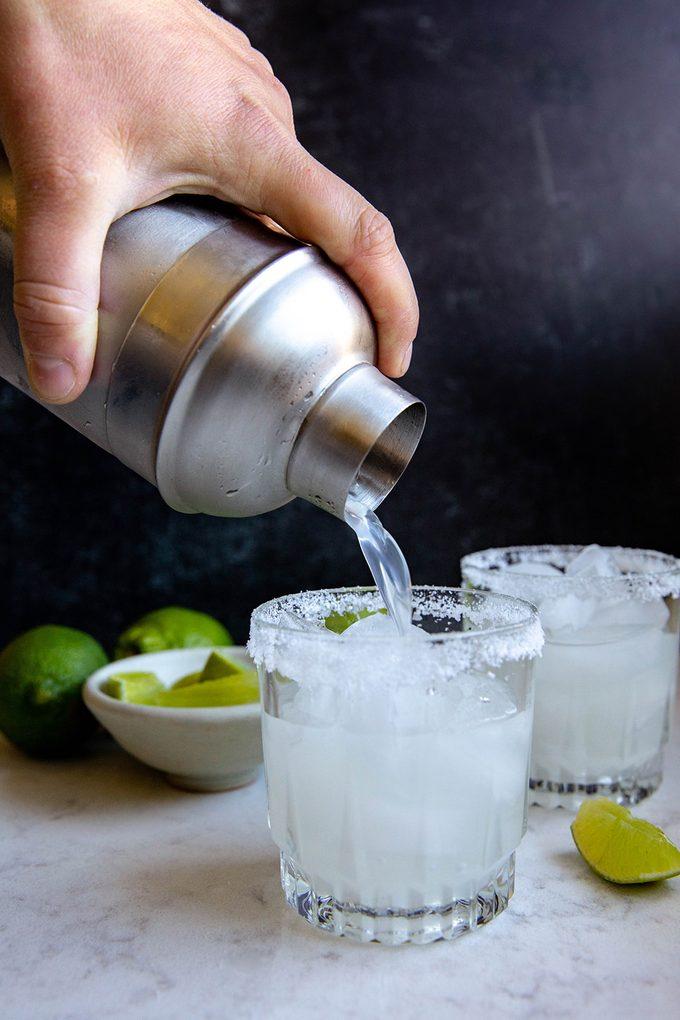 Strain & enjoy how to make a margarita