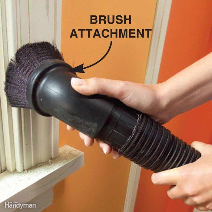 Vacuuming blinds