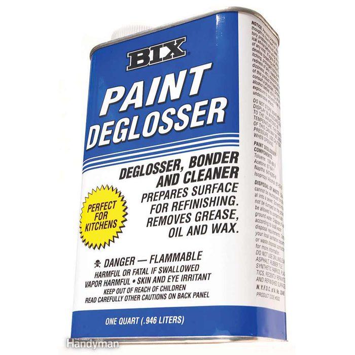 Paint deglosser