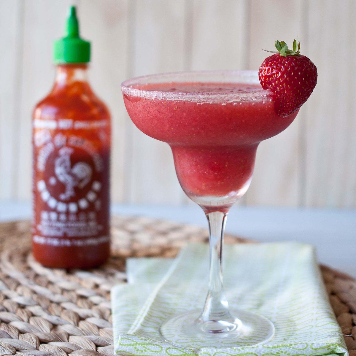 Strawberry Sriracha Margarita