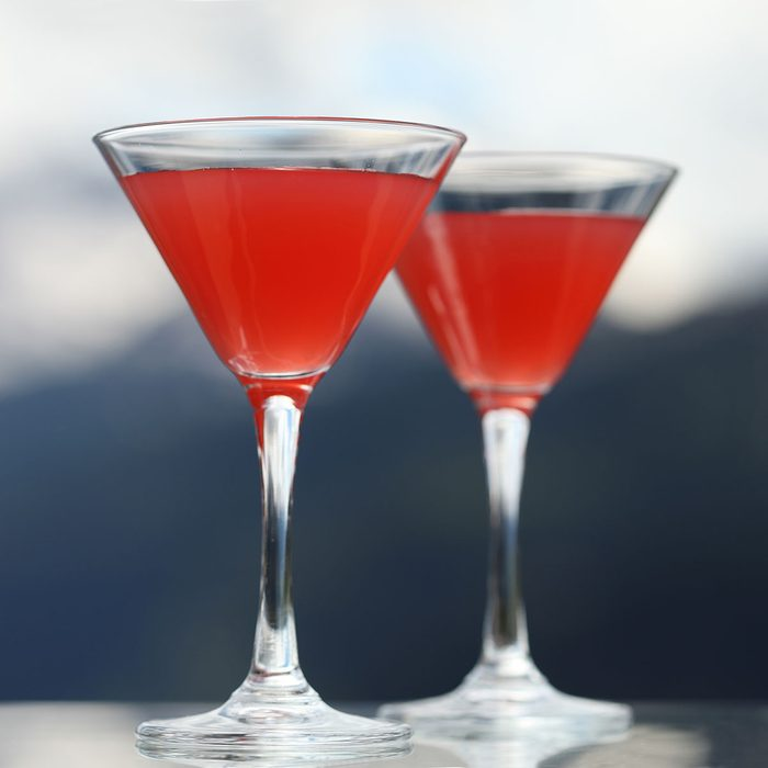 The Jersey Devil drinks
