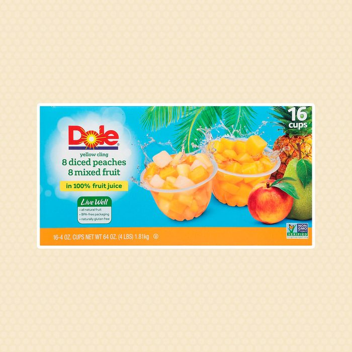 Dole Diced Peaches with Mixed Fruit