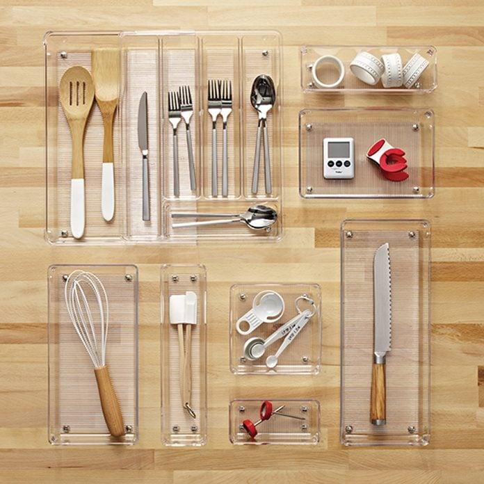 kitchen storage & organization Interdesign Linus Expandable Cutlery Organizer