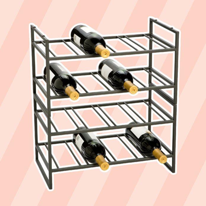 kitchen storage & organization Iron Stackable Wine Racks