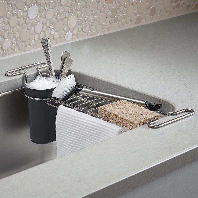 kitchen storage & organization Kohler Chrome Kitchen Sink Utility Rack