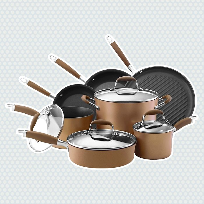 wedding anniversary gifts Bronze-Colored Cookware
