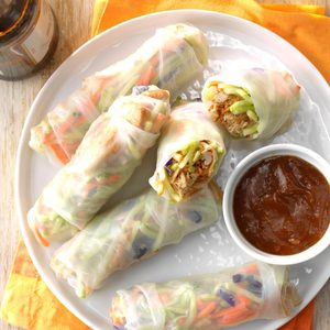 Pressure-Cooker Asian Wraps