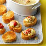 Cheesy Bruschetta Spread