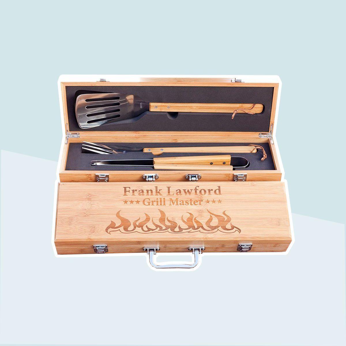 Engraved Grilling Tool Set