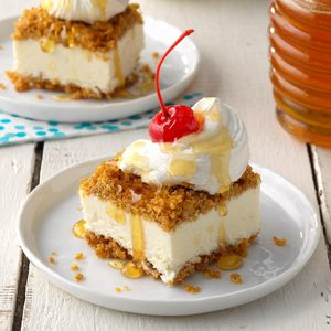 Fried Ice Cream Dessert Bars