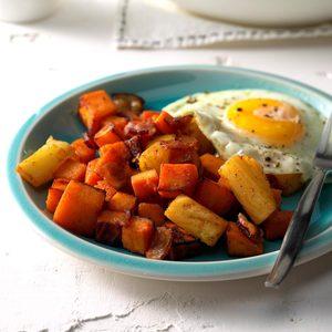 Pressure-Cooker Hawaiian Breakfast Hash