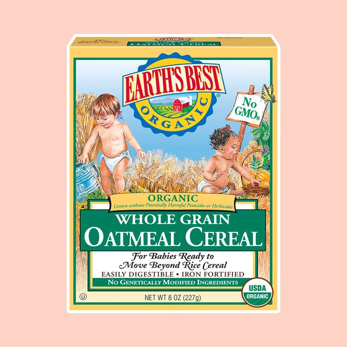 Earth's Best Organic Whole Grain Oatmeal Baby Cereal