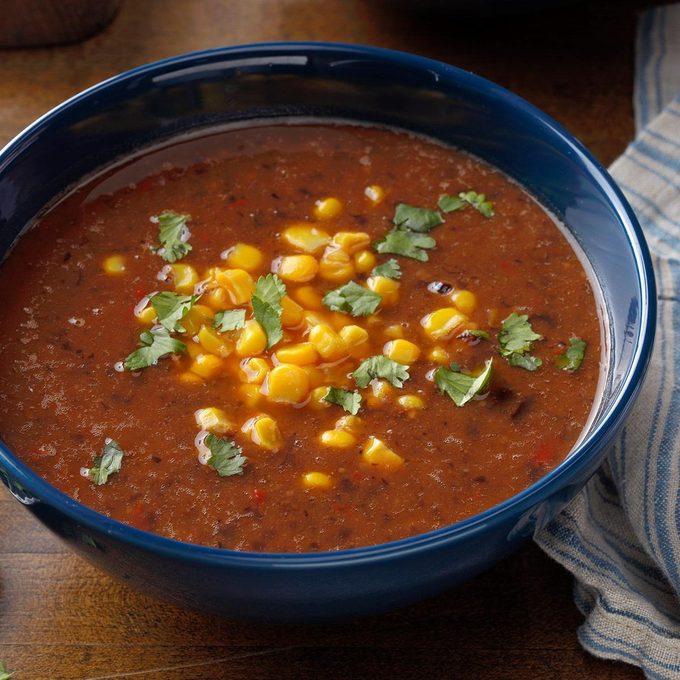 Slow Cooked Black Bean Soup Exps Sdfm19 189463 B10 16 3b Basedon 1