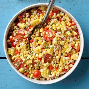Sweet Corn-Tomato Salad