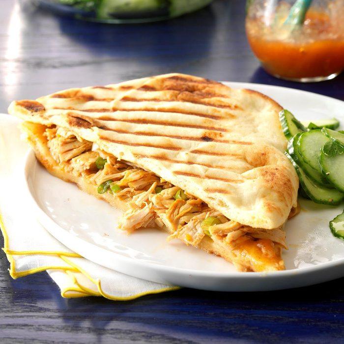 Pressure-Cooker Tandoori Chicken Panini