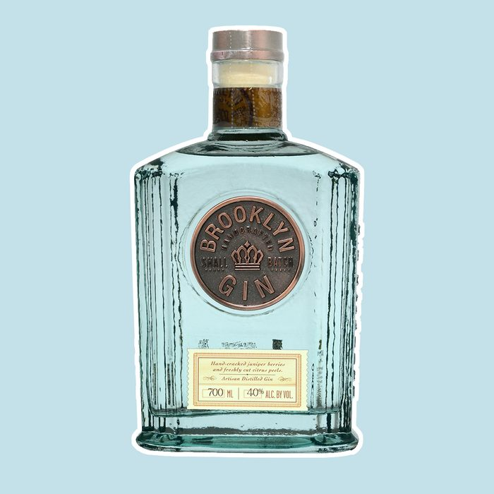 FONTE, VENICE, ITALY - FEBRUARY 2018. Bottle of Gin Brooklyn 70cl, 40%Vol.; Shutterstock ID 1018649239; Job (TFH, TOH, RD, BNB, CWM, CM): TOH