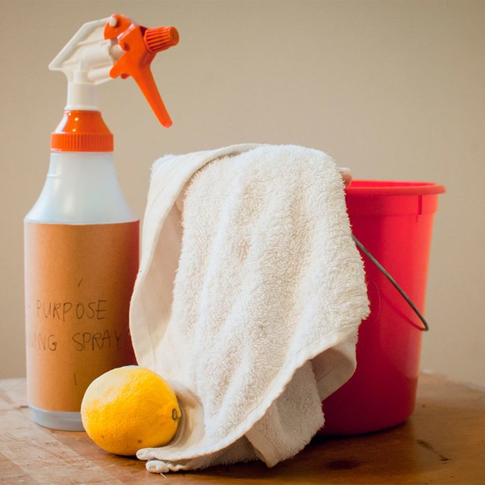 All-purpose homemade cleaner