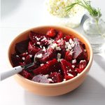 Pressure-Cooker Rosemary Beets