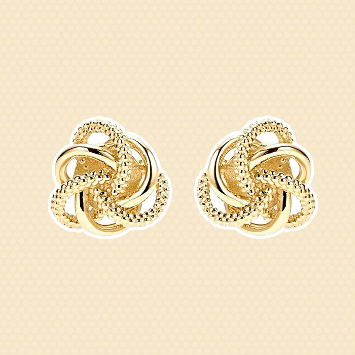 Love Knot Earrings wedding anniversary gifts
