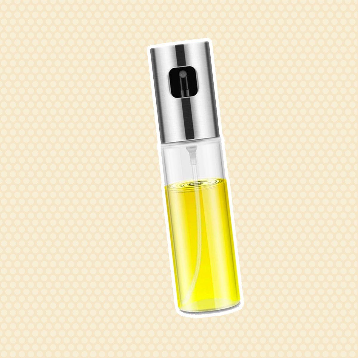 Olive Oil Sprayer for Cooking, Oil Spray Bottle Versatile Glass for Cooking, Baking, Roasting, Grilling