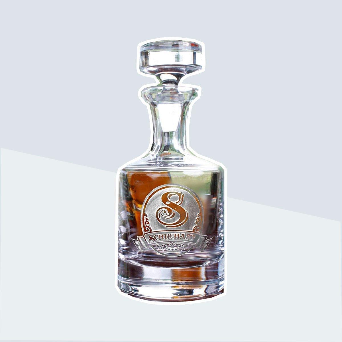 Custom Bourbon Decanter
