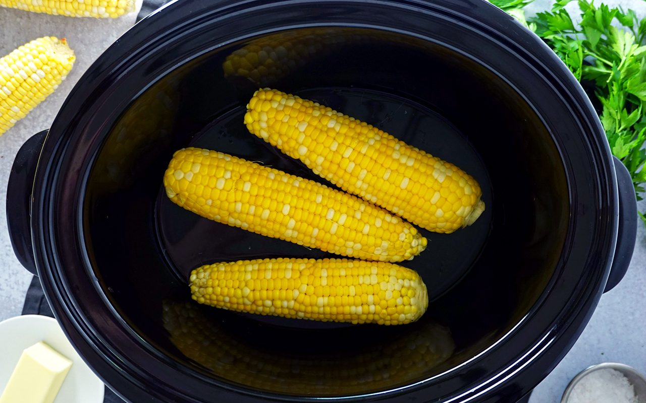 slow cooker sweet corn