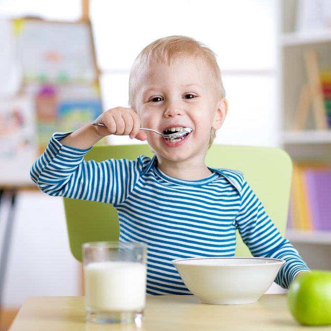 Toddler meal ideas, breakfast