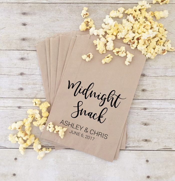 wedding thank you gifts Treat Bags Wedding Treat Bags Midnight