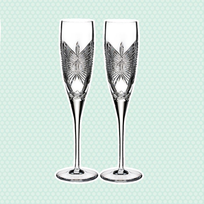 wedding anniversary gifts Waterford Love Happiness Champagne Flute Set Of 2