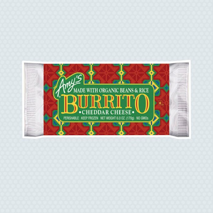 Amy's Bean and Cheese Frozen Burrito
