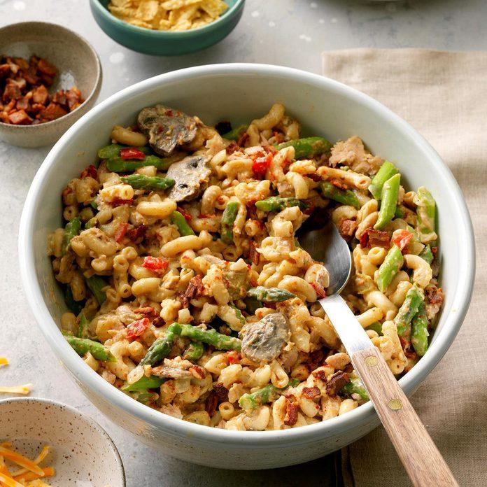 Asparagus Tuna Noodle Casserole