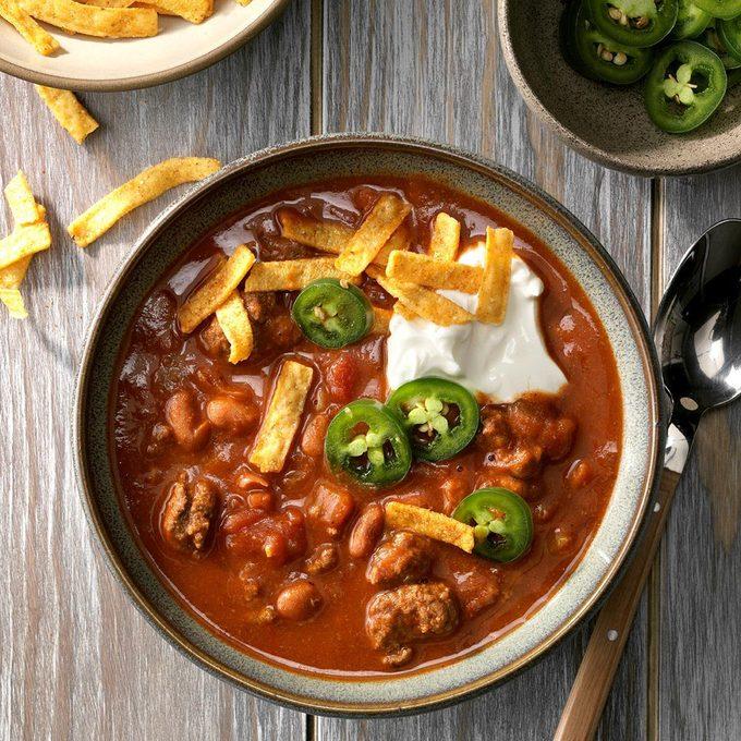Beef Taco Chili