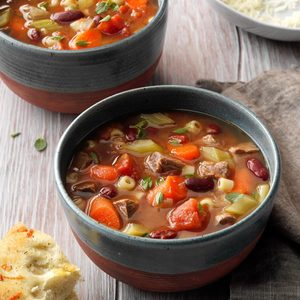 Beefy Minestrone