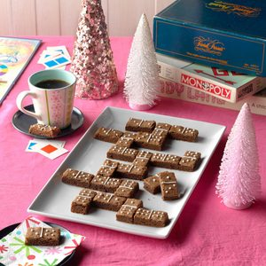 Game Night Domino Brownies