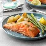 Easy Poached Salmon