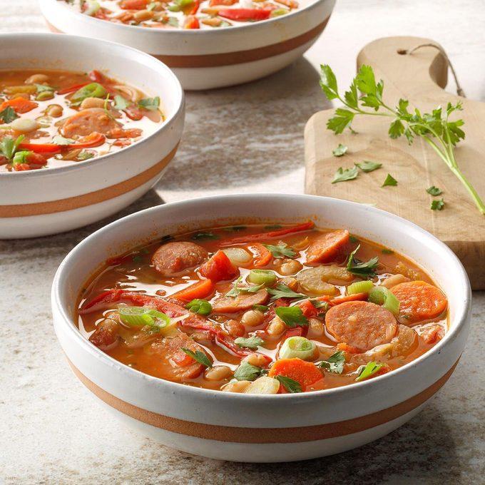 Easy Portuguese-Style Bean Soup
