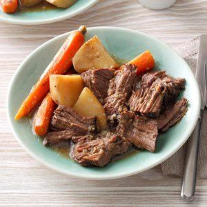 Favorite Beef Roast Dinner