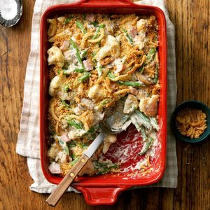 Green Bean and Cauliflower Casserole