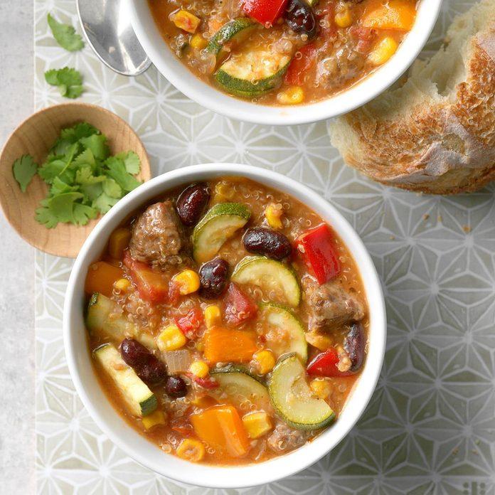 Italian Sausage & Quinoa Stew