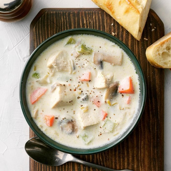 Lunch-Box Chicken Soup