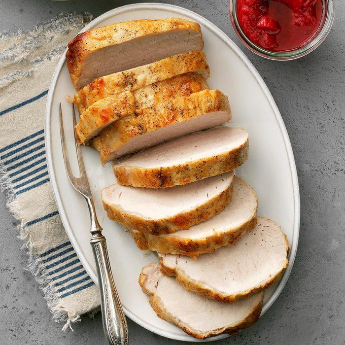 Pork Loin With Strawberry Rhubarb Chutney Exps Thca19 68744 E02 26 4b 7