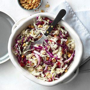 Ramen Noodle Cranberry Coleslaw
