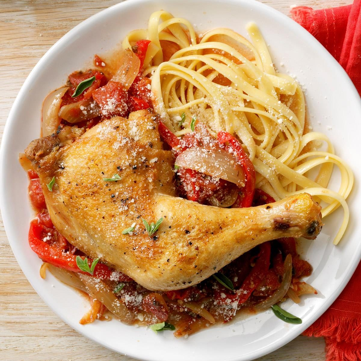 Day 4: Weekday Chicken Cacciatore