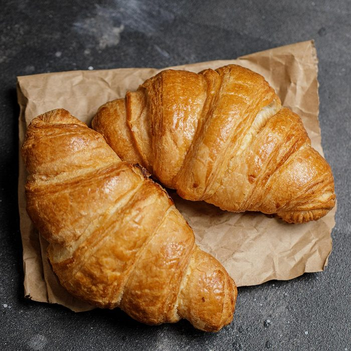 French croissant.