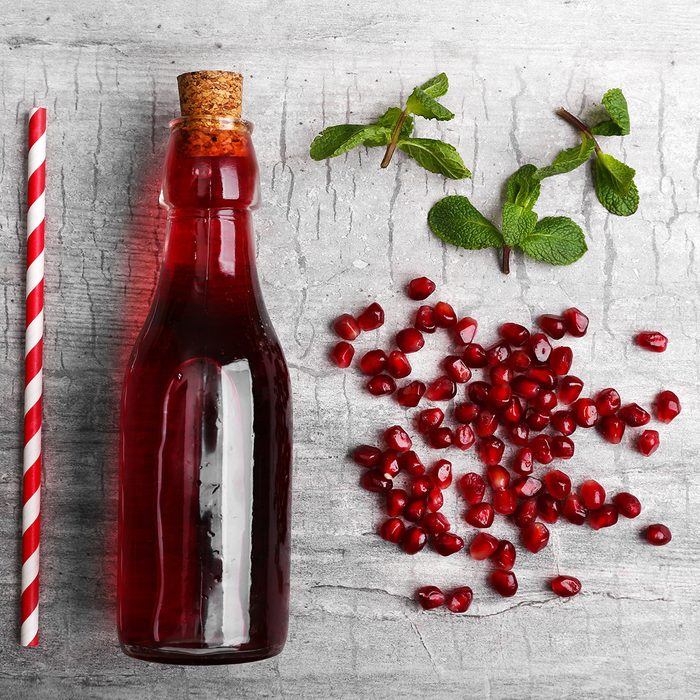 Healthy Pomegranate drink