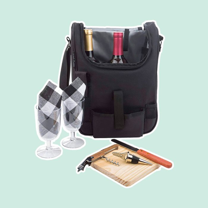 Insulated Travel Tote Bag